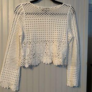 Lulus crochet top!
